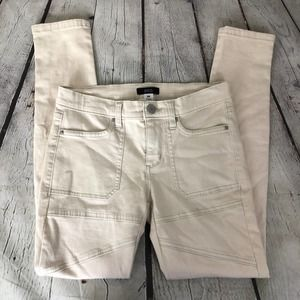 Urban Outfitters Size 26 Ivory Skinny Jeans NWT